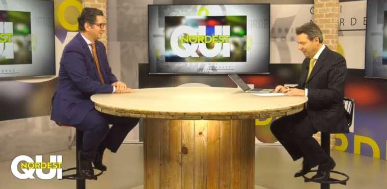 Claudio Campagnolo intervista a 7Gold Qui Nordest Franco Marcolina