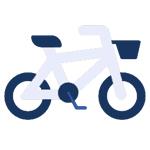 polizza bici icona